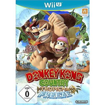 Nintendo Donkey Kong Country Tropical Freeze Wii U Jump`n Run Action Videospiel