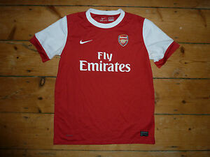 fcc9793dd age 13-15 yrs ARSENAL FC Shirt HOME JERSEY 2010 SEASON GOONERS ...