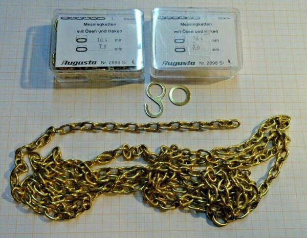 2 Messing Aufzugsketten Für Kuckucksuhren,schwarzwalduhren,wanduhren,1,8 M,10,4
