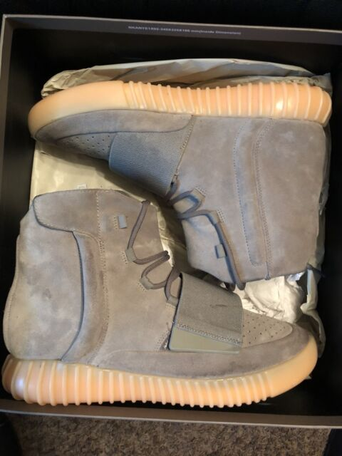 official photos ee953 ae9a9 adidas YEEZY Boost 750 Grey Gum - Size 10.5 (350 500 700)