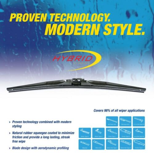 "GOODYEAR Hybrid Technology 16/"" Windshield Wiper Blade Pack of 2 Blades"