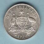 Australia. 1920 Shilling.. Much Lustre - 8 Pearls.. aEF/EF