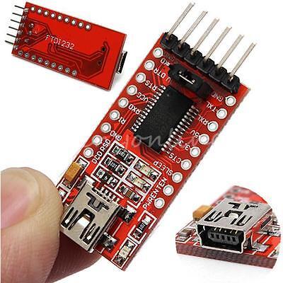 FT232RL FTDI USB zu TTL Serien Converter Adapter Modul 5V 3.3V Für Arduino Neu