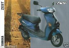 Scooter Brochure - Yamaha - Zest - c1993  (DC425)