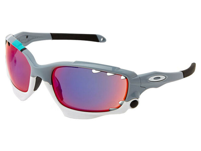 Oakley Racing Jacket 30 Years Sport Sunglasses Polished Fog  Red Iridium f275639bc6
