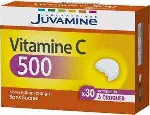 Juvamine-VITAMINE-C-500-a-croquer-30-comprimes