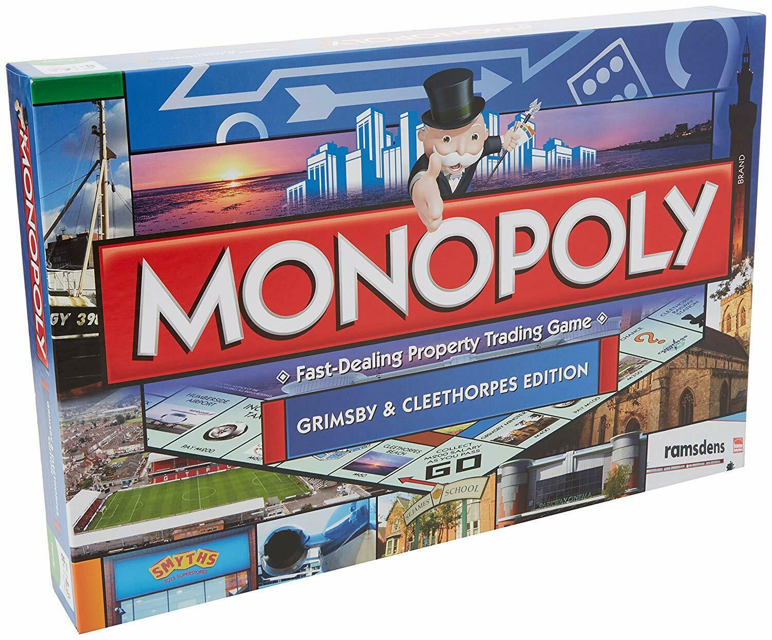 Monopoly - Grimsby Monopoly Board Game - 024822