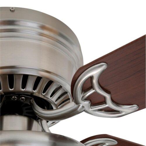 Abanico Ventilador De Techo Con Luz Bombilla Para Casa Negocios Elegante Calidad