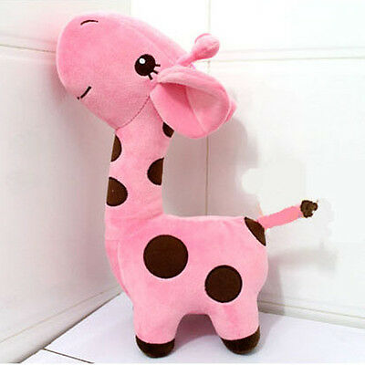 Toddler Kids Plush Toy  Plush Happy Donkey Dot Story Doll Nice GiftRose 17cm