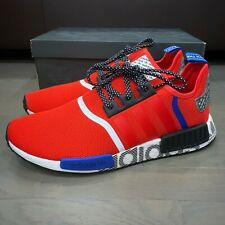 Size 13 - adidas NMD R1 Active Red Black for sale online | eBay