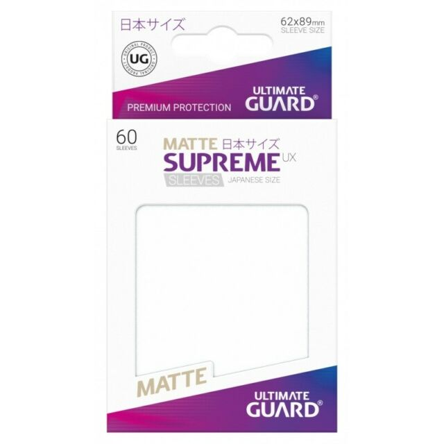 Ultimate Guard SMALL Premium Soft Sleeves Card Protectors 62x89mm 100ct Japanese