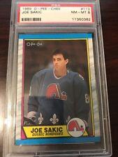 1989 O-PEE-CHEE Joe Sakic #113 Hockey Card