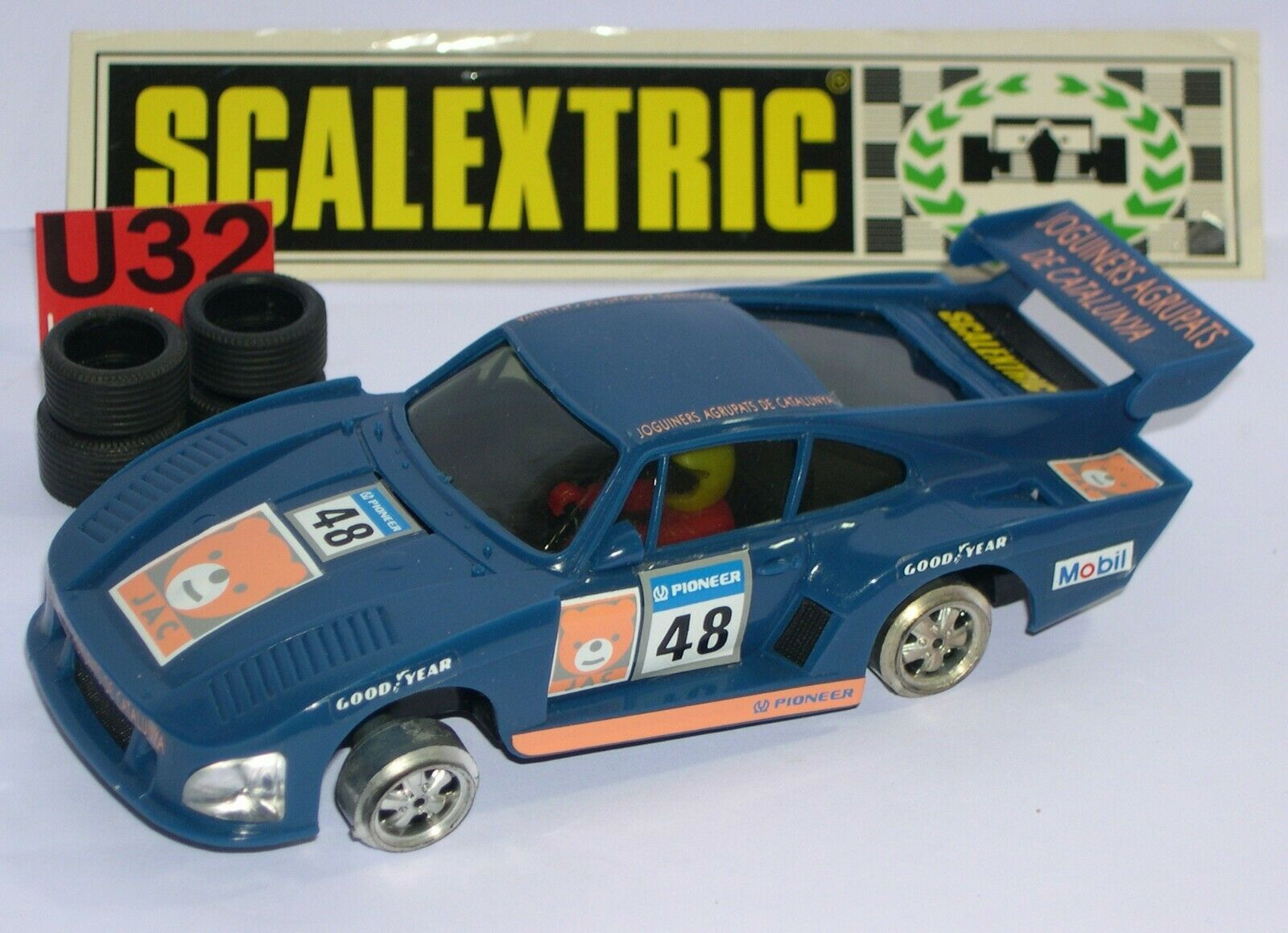 SCALEXTRIC EXIN 8356 PORSCHE 935 JAC LTED. ED. EXCELLENT CONDITION