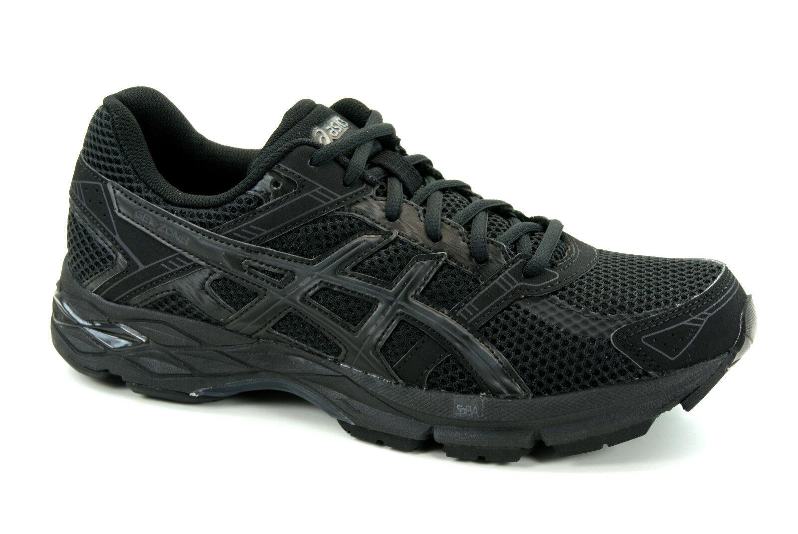 Asics gel-Zone 4 zapatillas running running running señora zapatillas de deporte negro t65tq-9090  80% de descuento