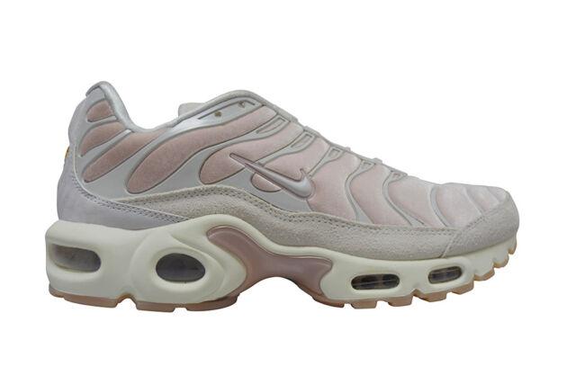 85a74aa8f02 Womens Nike Tuned 1 TN Air Max Plus LX Velvet - AH6788600 - Rose Vast Grey