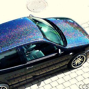 25g-XL-Metal-Flakes-Black-Holo-Auto-Car-Effektlack-0-6mm