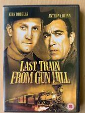 Last Train From Gun Hill DVD 1958 Western Classic With Kirk Douglas
