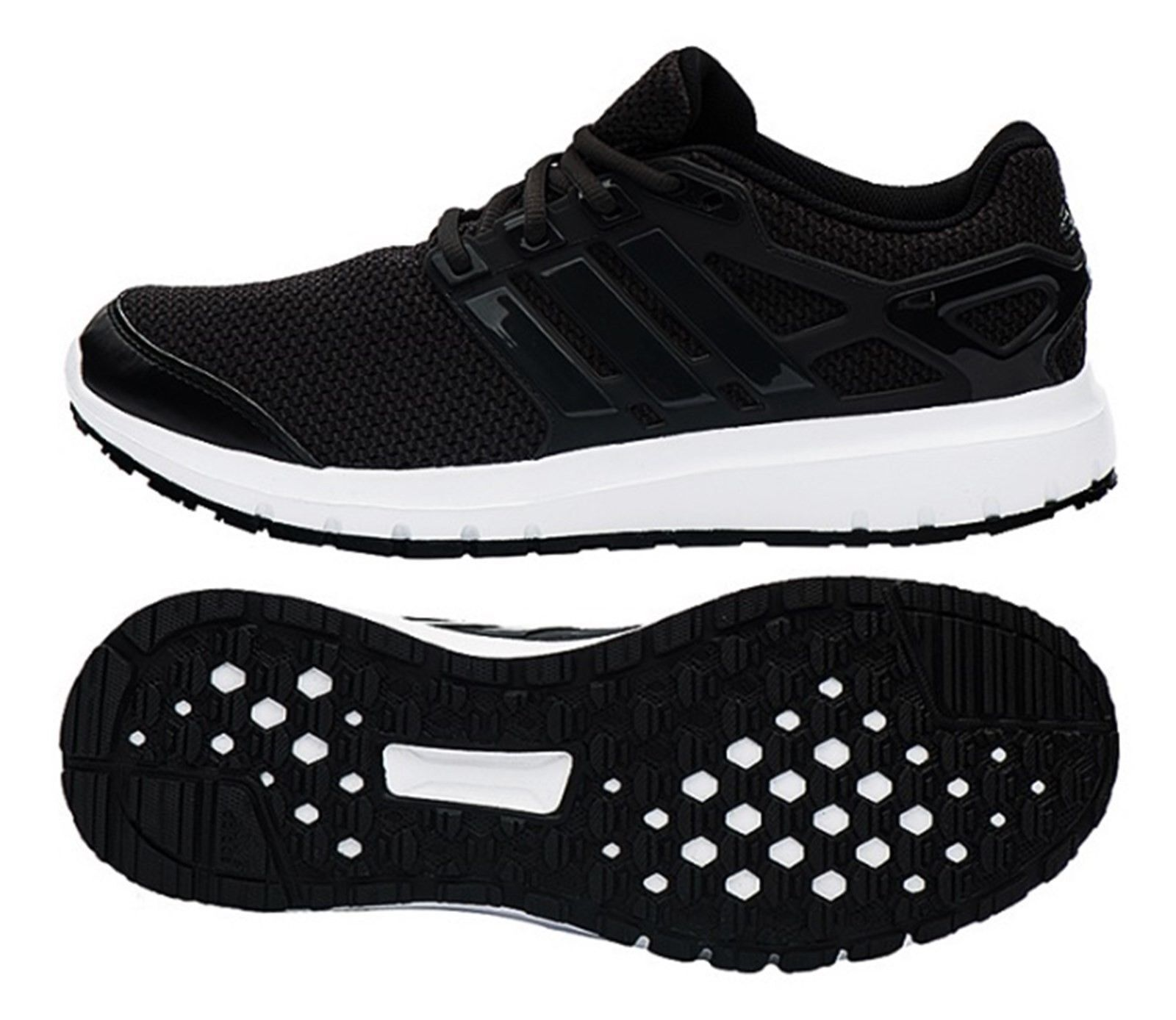 Adidas Men shoes Energy Cloud M Running Sneakers Black Casual shoes GYM AQ4181