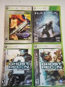 Lot-7-Xbox-360-Battlefield-Tony-Hawk-039-s-Ghost-Recon-Halo-4-Blazing-Angels
