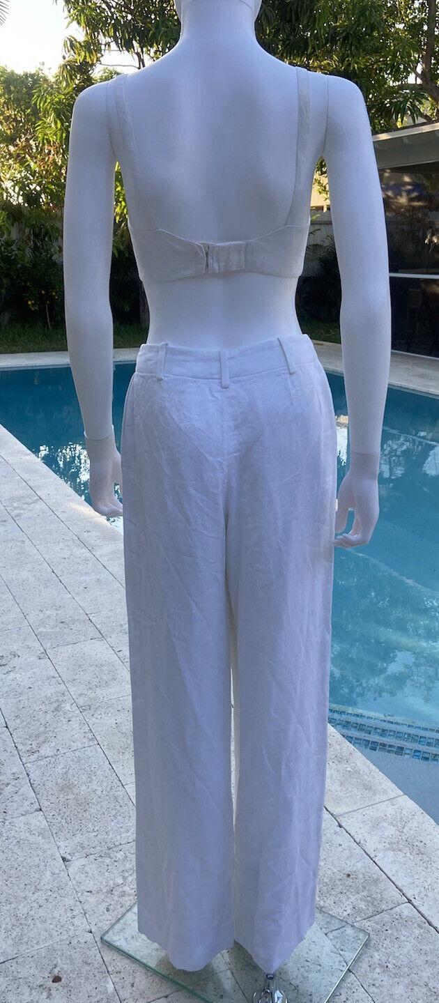 Vintage Hermes Linen Suit 36 - image 5