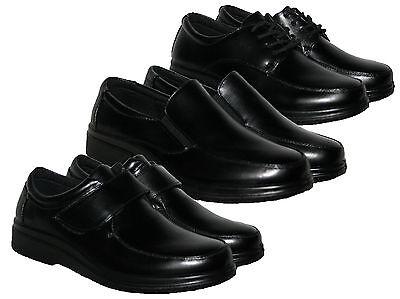 Para Hombre Negro Ligero smart/casual Zapatos En 3 Diseños En Tamaño 6-11