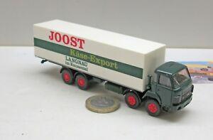 """Roskopf 402:   Saurer D 290/330 F 8x4 Koffer LKW     """"Jost Käse Export""""  (678)"""