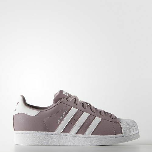 Adidas Originals Superstar S75131 Women's Blanch Purple White Comfort Rare