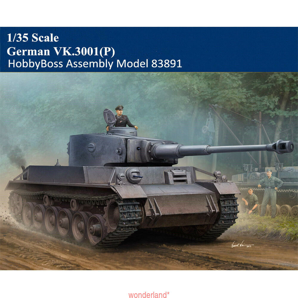 HobbyBoss 83891 1 35 German VK.3001(P) Tank Military Plastic Assembly Model Kit