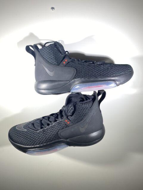 Nike Zoom Rize Bq5467-002 Black Mens Basketball SNEAKERS Size 11