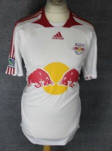 New York Red Bulls Home Football Shirt 07-08 Soccer Jersey MLS ... 6766bc4190213