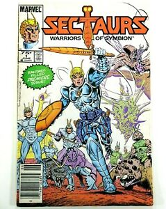 MARVEL-Star-SECTAURS-WARRORS-OF-SYMBION-1985-1-Key-1st-App-Ships-FREE