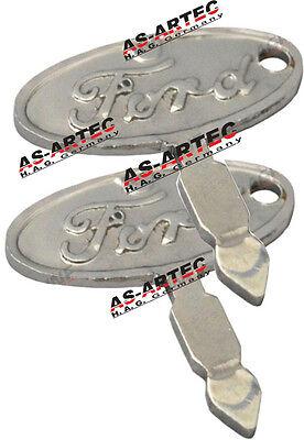 2 Schlüssel für Schlepper Ford 2000-8830 OEM C5NN116038