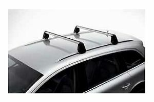 new oem audi 2017 q7 roof rack cross bars base carrier. Black Bedroom Furniture Sets. Home Design Ideas