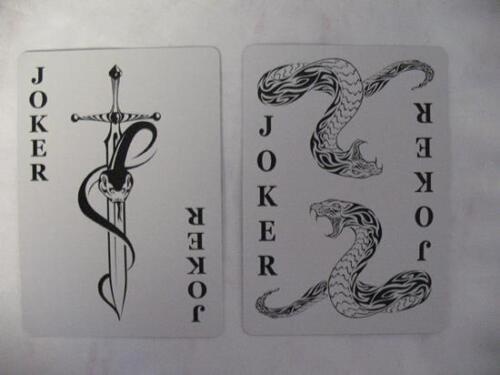 Cobra Snake Deck Bicycle Playing Cards Poker Size USPCC Custom Limited Ed Sealed