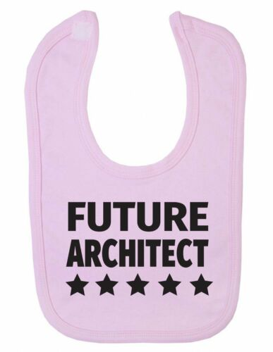 Future Architect Stars Design Funny Cute Newborn Toddler Baby Bib