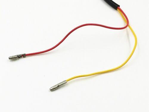 Amber Triangle LED TURN SIGNAL INDICATOR Blinker For Dirt Bike Dual Sport Street
