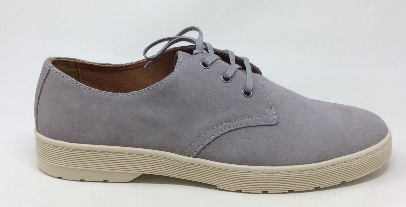 Dr. Martens Men's Cgoldnado Oxford shoes Mid Grey Suede Size 12 UK   13 US