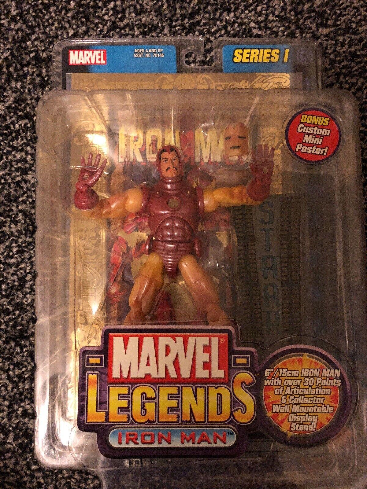 Marvel - legenden ironman - reihe 1, abbildung