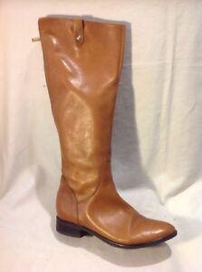 la marrón de rodilla Clarks cuero tamaño Botas 4d hasta fYIxHXddn