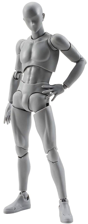 Bandai-estatuilla S.H. Figuarts-cuerpo Kun (hombre) versión de Color gris juego de DX -
