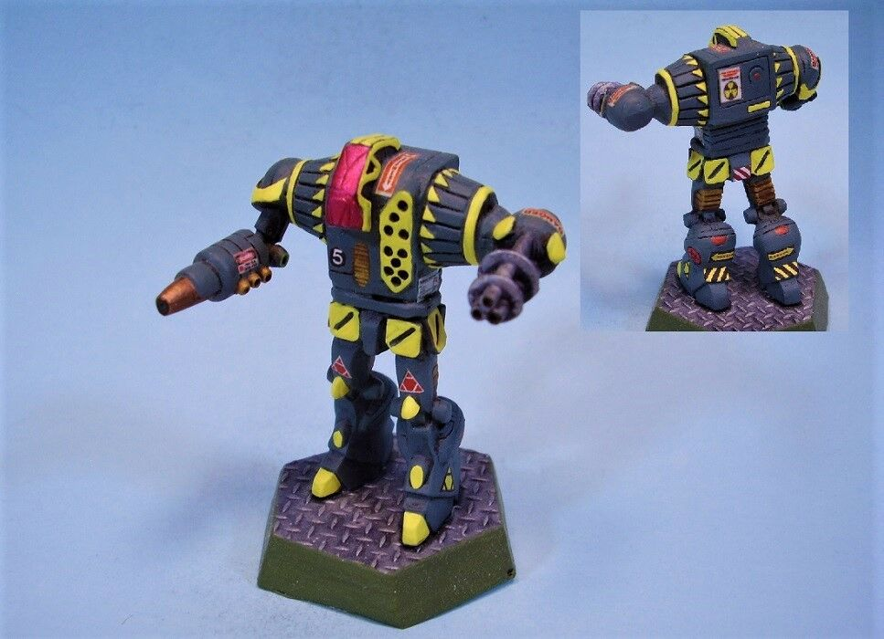 Battletech painted miniature Paladin battlemech YG