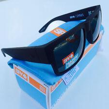 d30f880a32 Spy Optic Cyrus Sunglasses Black Frame Grey Green Happy Lens 673180038863
