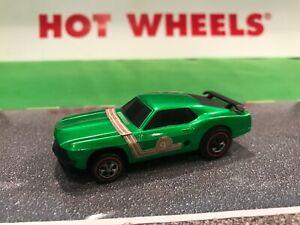 Hot Wheels Redline Era Sizzlers  #6502 Green Mustang Boss 302 - Mexico 1970!