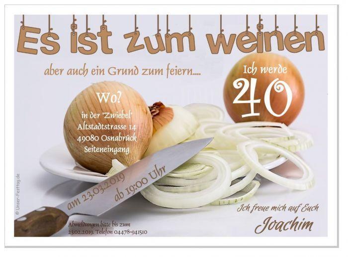 Originelle Geburtstagseinladungen Text änderbar gestalten 30 40 50 60 lustig TOP   | Quality First  | Deutschland Online Shop