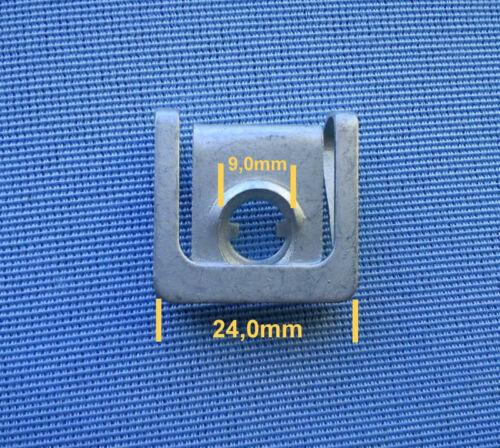 5x protección del motor tornillo bajo protección de conducción sujeción paréntesis universal metal 296 2309