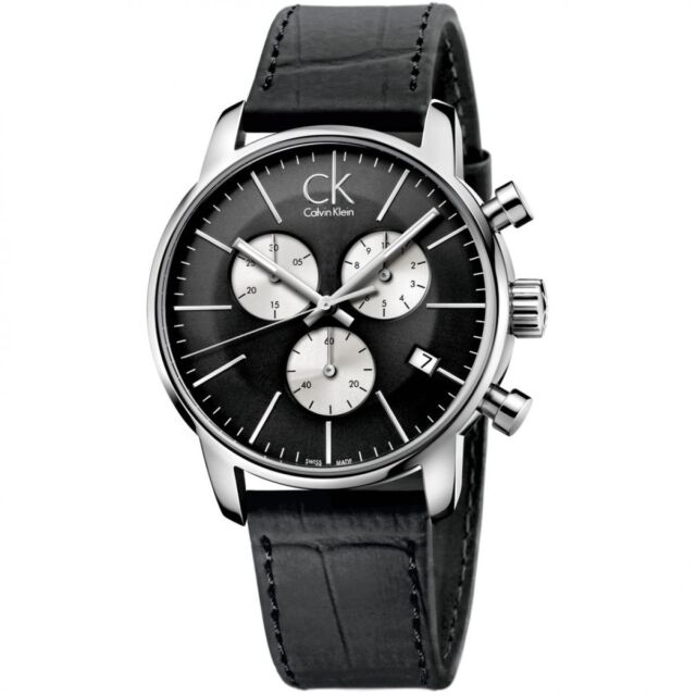 Calvin Klein K2G271CX City Chronograph Men's Watch