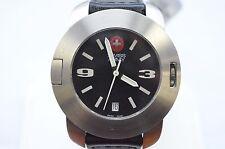 W397- New Victorinox Swiss Army 25535 SC Mens Analog Watch Automatic SS leather