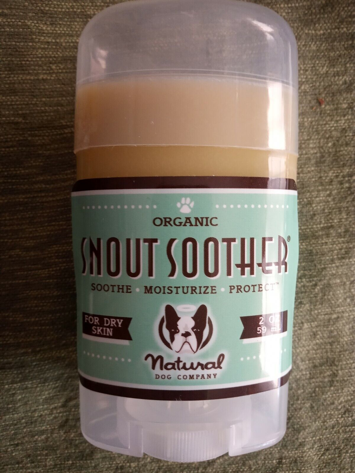 Pet Natural Dog Co Organic Snout Soother For Dog's Cracked, Dry nose 2 oz.
