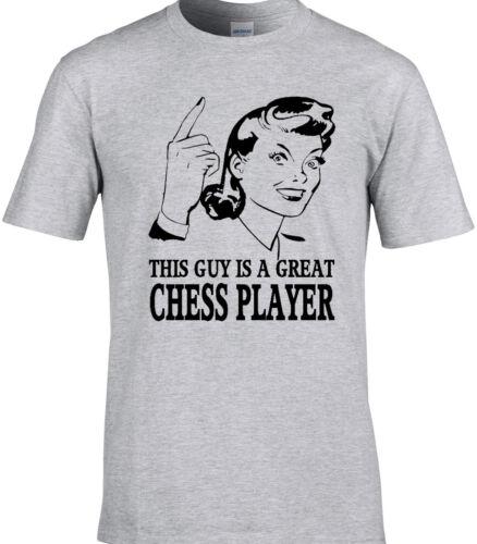 Chess t-shirt idée cadeau design unique board game team player drôle anniversaire
