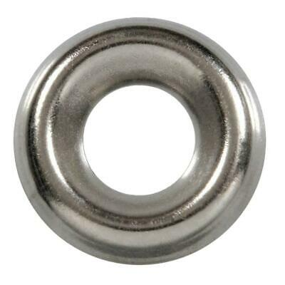 #8 Countersunk Finishing Cup Washers 750 pcs AISI 316 Stainless Steel